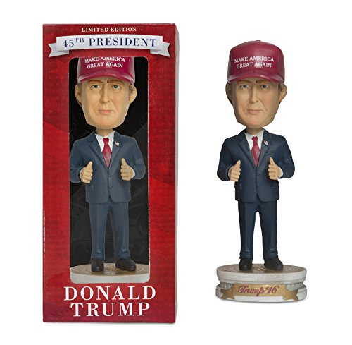 PLAN P2 PROMOTIONS Donald Trump Bobblehead, Make America Great Again (Discontinued by manufacturer) by PLAN P2 PROMOTIONS