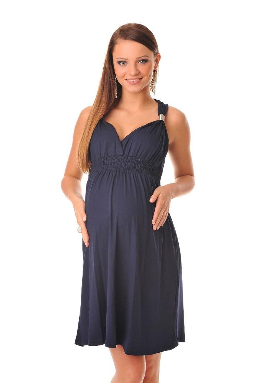 Purpless Maternity Umstands Party Sommerkleid Schwangerschaft Tunika 8423