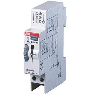 Theben 0090001 ELPA 9 - Minutero de escalera electromecánica - Carril DIN - Sin consumo de corriente en reposo: Amazon.es: Iluminación