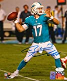 Ryan Tannehill Autographed Miami Dolphins 8x10 Passing PF. Photo- JSA W Auth