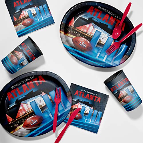 Super Bowl LIII Tailgate Party Supplies Kit