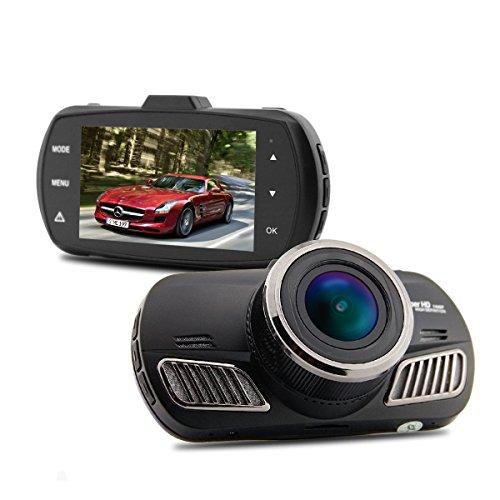 (Car Dash Cam, MBHB Full HD Car Dashboard Camera DVR Video Recorder, Night Vision G-Sensor Vehicle Blackbox Camcorder for Loop Recording, Parking Monitor,)
