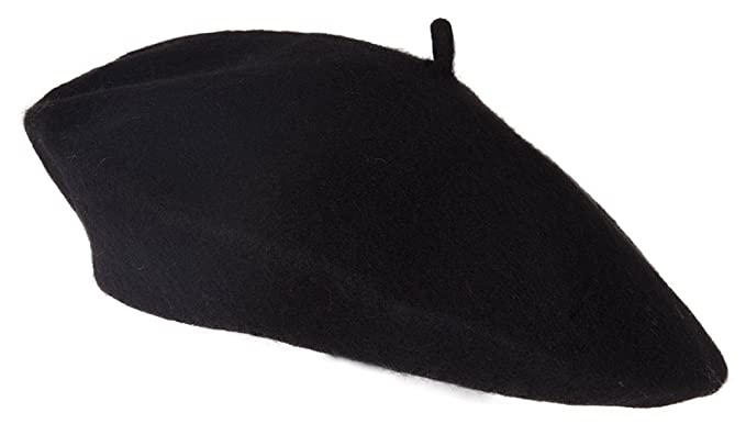 Private Island Black Wool Beret at Amazon Women s Clothing store ... 0cf1ae6c25a