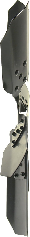 Derale 17920 Heavy Duty Fan Blade Series 1000 20 Steel Clutch Fan Reverse Rotation