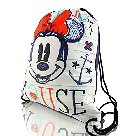 Disney Minnie Mouse SKETCHING COLLECTION bolsa con cordón ...
