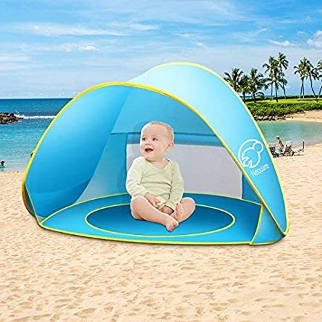 Image Unavailable. Image not available for. Color NEQUARE Baby Beach Tent Pop Up ...  sc 1 st  Amazon.com & Amazon.com: NEQUARE Baby Beach Tent Pop Up Tent Baby Beach Pool Sun ...