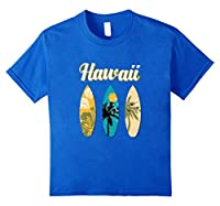 Hawaii Aloha Surfboard T-Shirt Vintage Retro Hipster