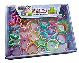 Mini Rainbow Magic Springs Multishape Assortment Bulk Party Favors, (Set of 24) (2 Inches)