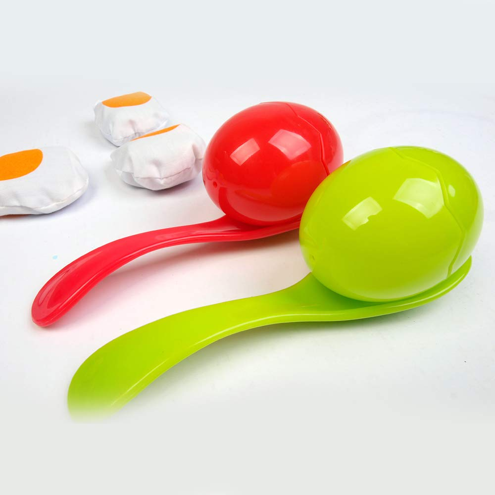Amazon.com: Keebgyy Juego de cuchara para huevos, huevos y ...