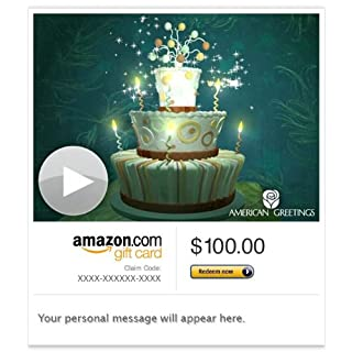 Amazon Gift Card - E-mail - Bewitched Birthday (Animated) [American Greetings] (B00BWDH77S) | Amazon price tracker / tracking, Amazon price history charts, Amazon price watches, Amazon price drop alerts