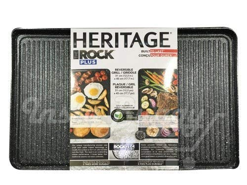 The ROCK Plus Heritage Reversible Grill/Griddle