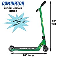 Dominator Trooper Pro Scooter (Green) from Dominator Scooters