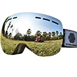 Snowledge Ski Goggles - Frameless, Exchangeable Double Spherical - Best Reviews Guide