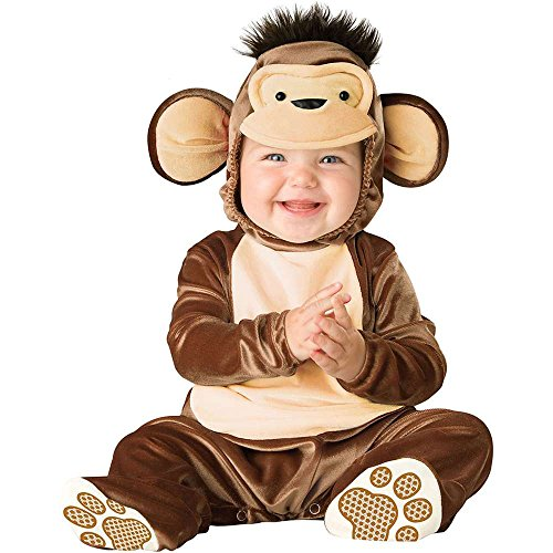 Baby Mischievous Monkey Costumes (Mischievous Monkey Baby Infant Costume - Infant Small)