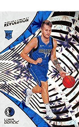 22f6d12ebe5 2018-19 Panini Revolution Impact Basketball  128 Luka Doncic Dallas  Mavericks Rookie Official NBA