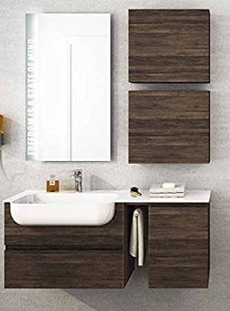dafnedesign. com – Mueble de baño tamaño Color l.120 p.36 cm