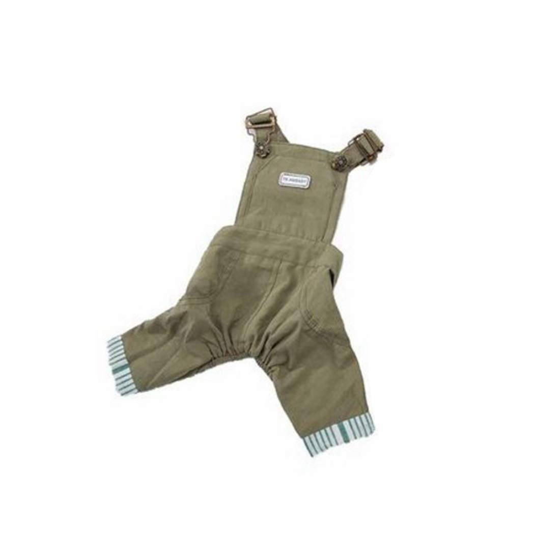 Green XL Green XL Huayue Originative Dog Summer Clothes Tog Clothing Jumpsuit for Puppy Doggy Cat (color   Green, Size   XL)