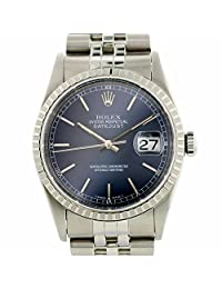 Rolex Datejust automatic-self-wind mens Watch 16220 (Certified Pre-owned)