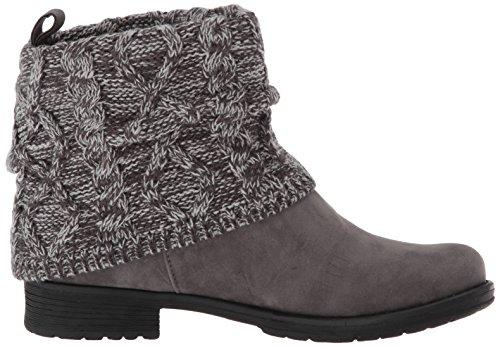 MUK LUKS Womens Patrice Fashion Boot Grey yca1m