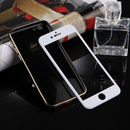 Phone Taschen & Schalen Für iPhone 6 Plus / 6s Plus, 360 Grad Shockproof abnehmbare Galvanotechnik TPU + PC Kombination Schutzhülle mit weißer PC-Abdeckung ( Color : Black )