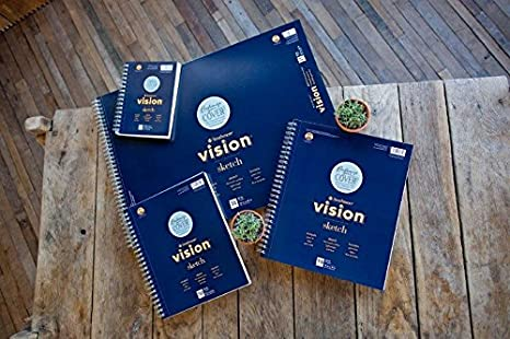 9x12 Wire Bound Strathmore Vision Sketch Pad