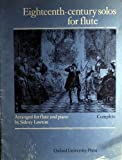 Eighteenth-century solos for flute: Six pieces by Bach and Handel