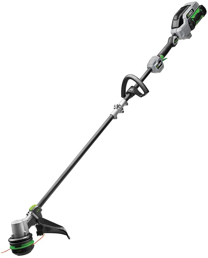 EGO Power+ ST1521S 15-Inch String Trimmer with POWERLOAD and Carbon Fiber Split Shaft