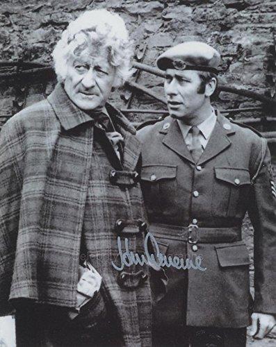 JOHN LEVENE as Sergeant Benton - Doctor Who GENUINE AUTOGRAPH