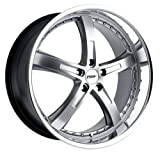 18x9.5 TSW Jarama (Hyper Silver w/ Mirror Lip) Wheels/Rims 5x114.3 (1895JAR405114S76)