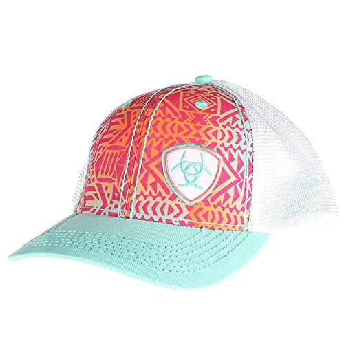 ARIAT Women's Contrast Stitching Front Panel Cap, Multi, OS