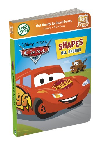 LeapFrog Tag Junior Book Cars Shapes All Around (works with LeapReader Junior)