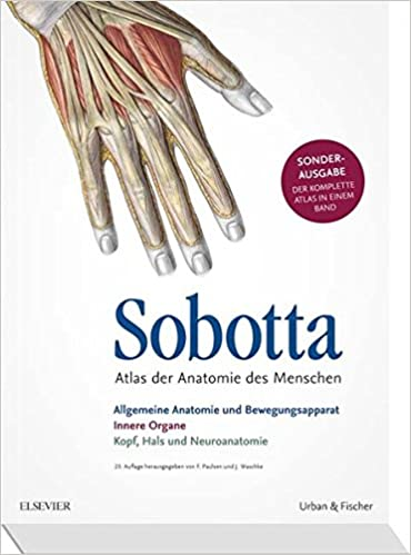 Sobotta Atlas der Anatomie Sonderausgabe in einem Band: Amazon.de ...