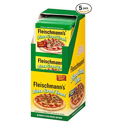 Fleischmann's Yeast Pizza, 0.25-Ounce Pouches 3 Count (Pack of 5)