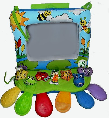 Leap Frog Baby Musical Rhyming Reflections Crib & Floor Mirror ...