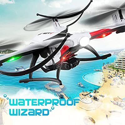 JJR/C H31 Waterproof Drone with Camera Headless Mode One Key Return 2.4G 4CH 6Axis RC Quadcopter RTF - Green from Shenzhen Wee Store