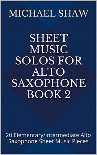 Amazon Sheet Music Solos For Alto Saxophone Book 2 20
