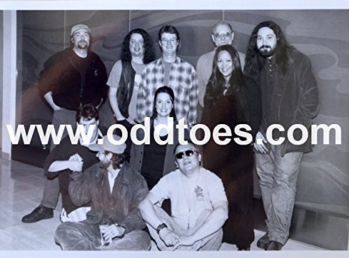 oddtoes concert posters and music memorabilia Widespread Panic Early Un-Released Original Publicity Photo 1990