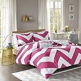Mi-Zone Libra Comforter Set, Pink, Full/Queen(MZ10-127)