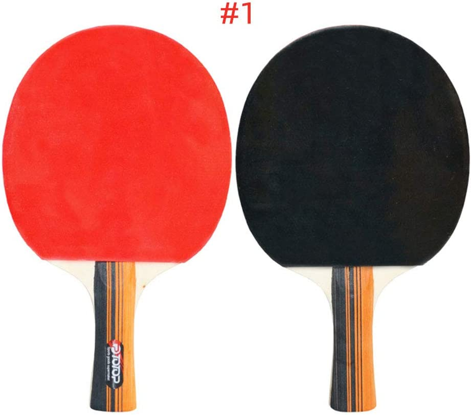 Rosepoem Nuevo Bate de Tenis de Mesa de Calidad, Raqueta de Tenis de Mesa, Raqueta TT versátil y Ofensiva