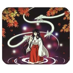 Generic Personalized Hot Japanese Anime Inuyasha Lonely Autumn Lake for Rectangle Mouse Pad