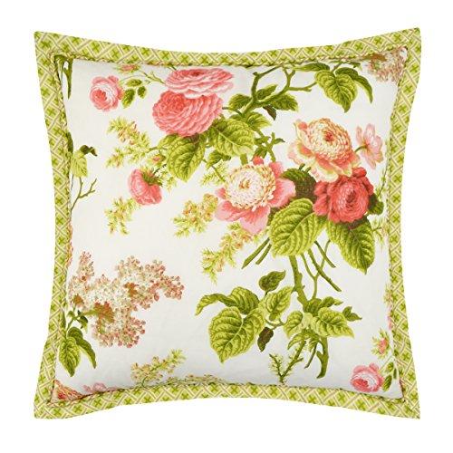 - WAVERLY Emma's Garden Decorative Pillow, 18x18, Blossom