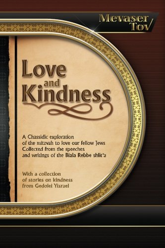 Download Mevaser Tov on Love and Kindness (Volume 7) pdf