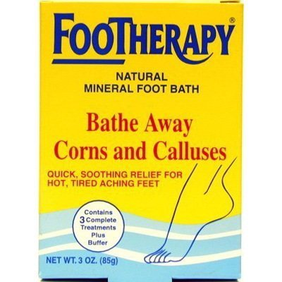 FooTherapy Natural Mineral Foot Bath, 3 Ounce by FOOTherapy (Bath Footherapy Foot)