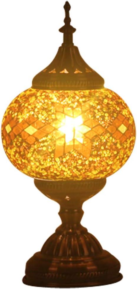 Amazon.com: FABAKIRA - Lámpara de mesa estilo mosaico ...