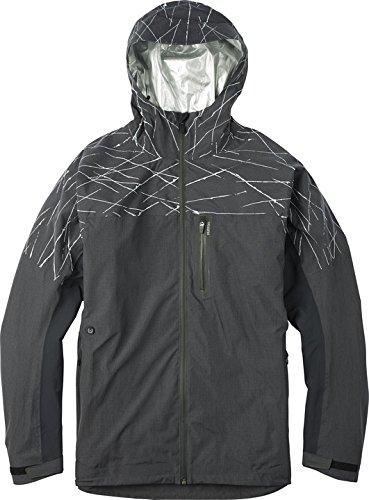 Burton Men's Chill Hero Jacket, True Black, Large ()