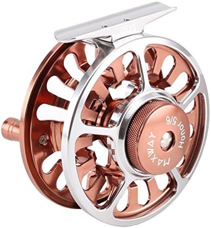 Maxway Starter, Angelrolle zum Fliegenfischen, superleicht, 3BB, CNC-gefräste Aluminiumlegierung, Größen 3/4, 5/6, 7/8, 9/10, von SeaKnight