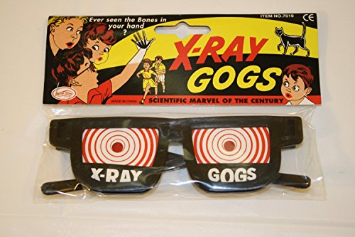 Forum Novelties X-Ray Glasses Goggles - One Size -