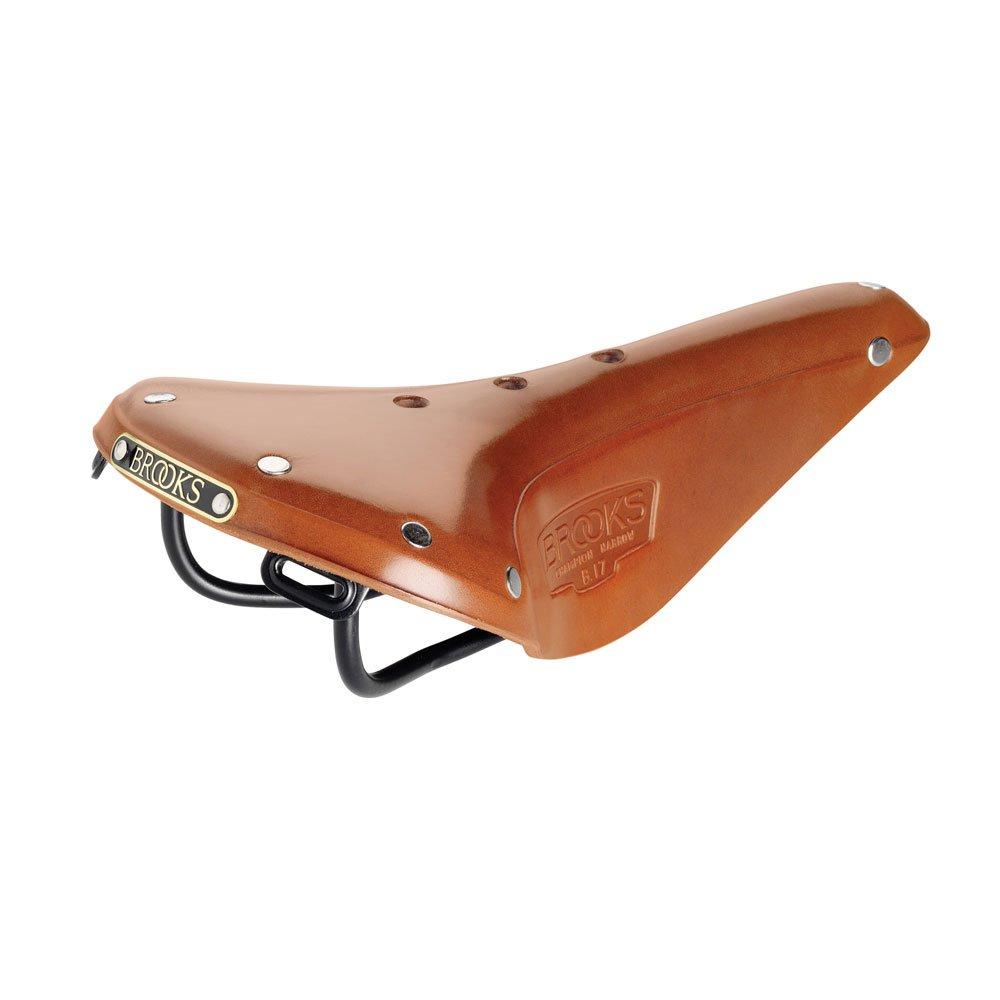 BROOKS(ブルックス) 自転車レザーサドル B17ナロークラシック NARROW CLASSIC 伝統のスポーツモデル 【日本正規品/2年間保証】 B01MU7WK7O ハニーブラウン ハニーブラウン