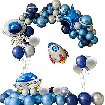 Amazon.com: Juego de globos de decoración para fiestas en el ...