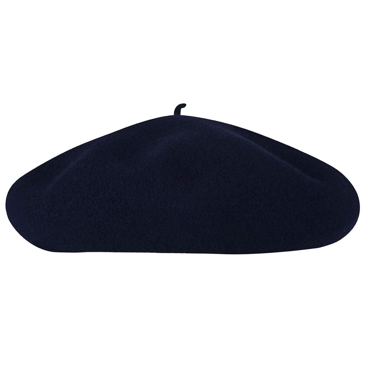 Kangol Men's Anglobasque Beret, From the Heritage Collection, Dark Blue (Large) by Kangol (Image #3)